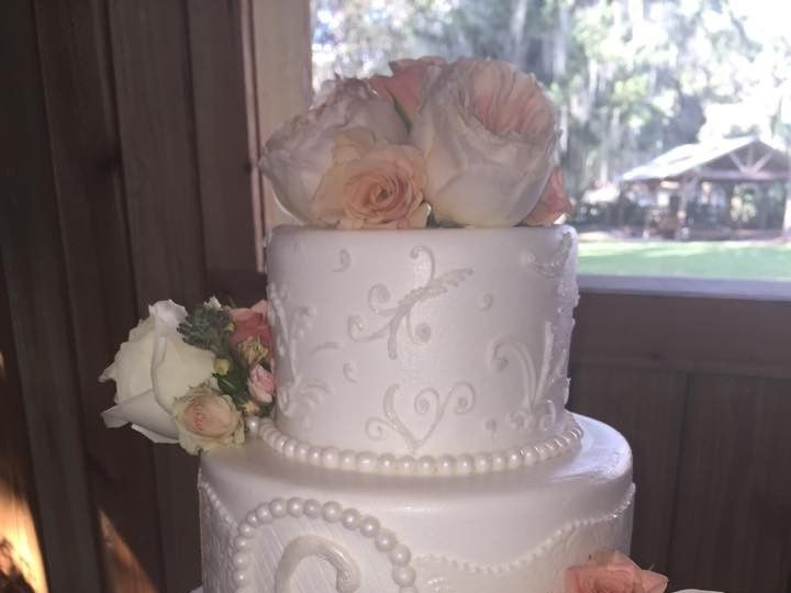 Tmx 1467855191318 1200630510748229425356634639016468219733652n   Cop Largo, Florida wedding cake