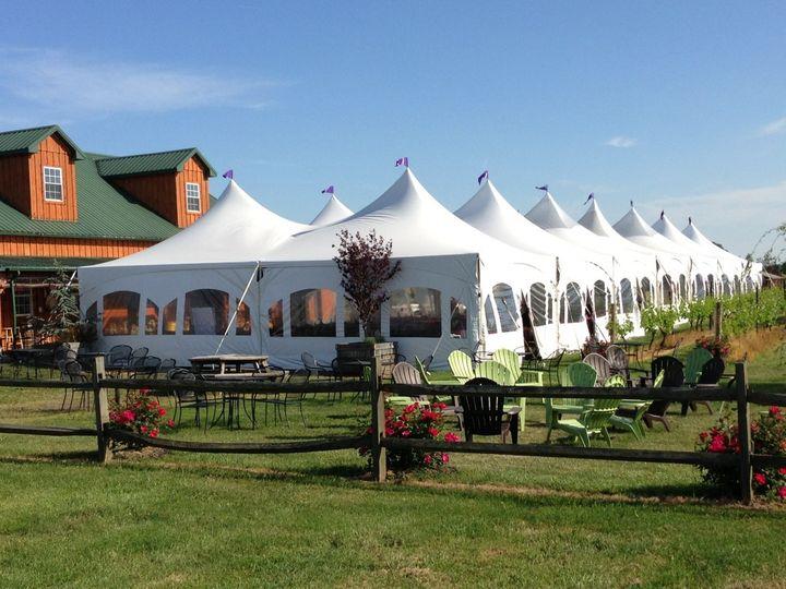 Tmx 1393011201171 40x140 High Peak With Walls  Vineland wedding rental