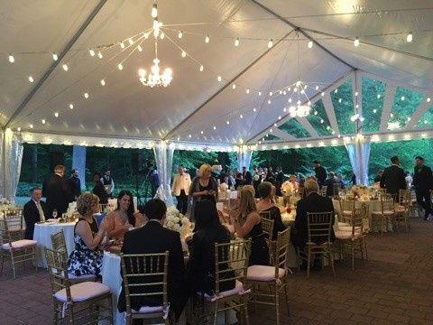 Tmx 1460565576623 X2 Interior With Festival Lights 2 Vineland wedding rental