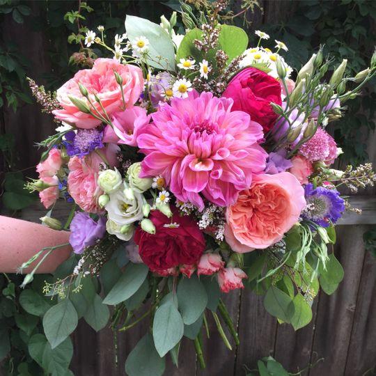 Wildflower summer bouquet