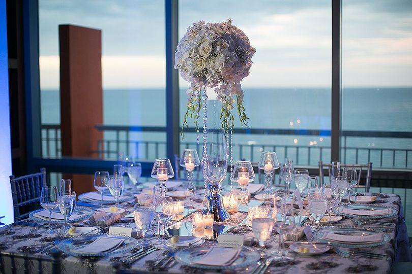 Table setting @ Salon Mirador