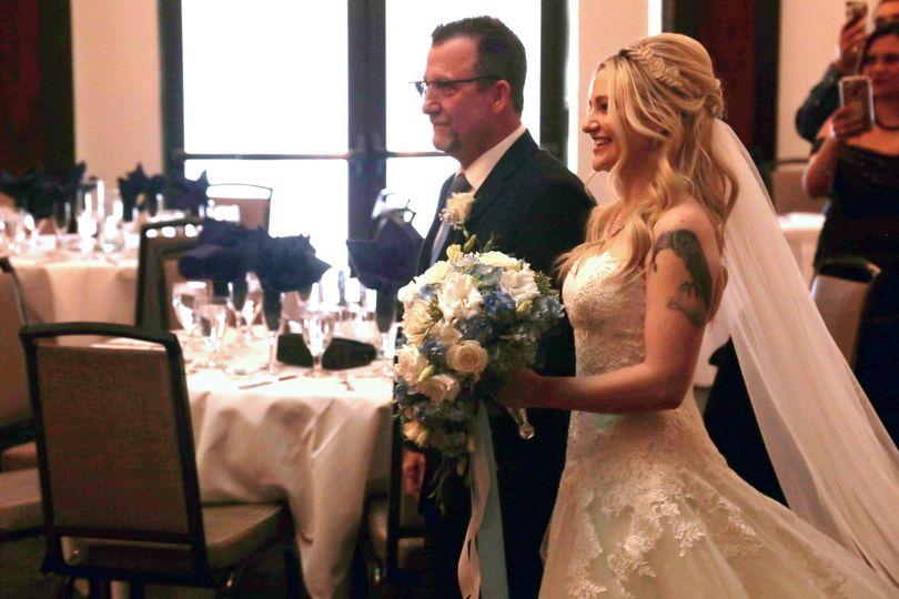 Indoor Ceremony-The Bride