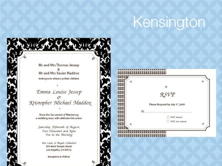 Tmx 1309839326948 KensingtonInviteRSVP La Jolla wedding invitation
