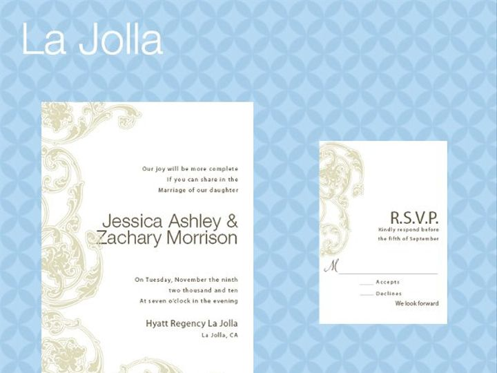 Tmx 1309839349557 LaJollaInviteRSVP La Jolla wedding invitation