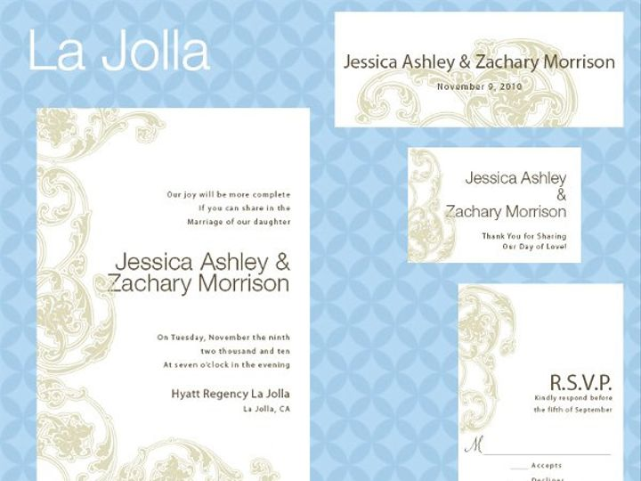 Tmx 1309839356853 LaJollaSuite La Jolla wedding invitation