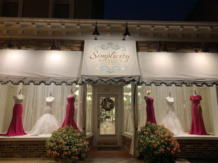 Front of Boutique