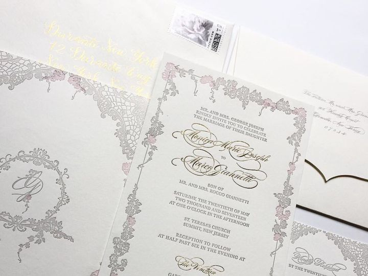 Tmx 1496937693847 Fullsizerender 2 Fairfield wedding invitation