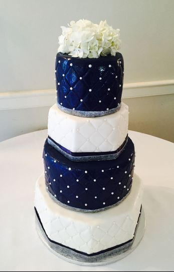 White and blue theme