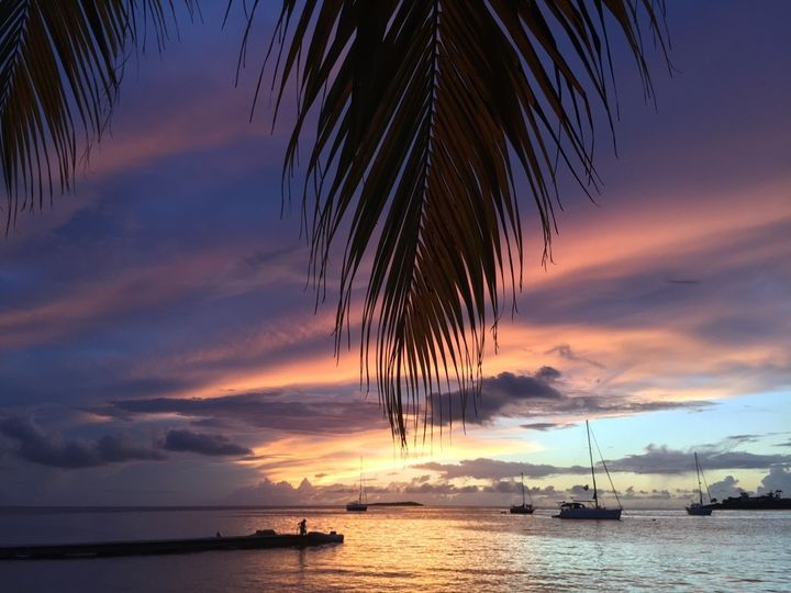 Caribbean Sunset over Calabash, Grenada