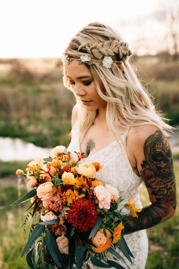 Floral queen