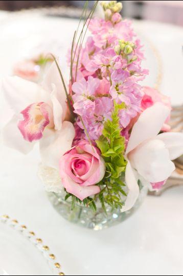 blush floral arrangements 3 of 1
