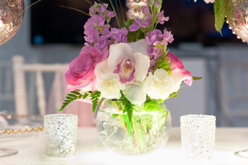 blush floral arrangements 9 of 1
