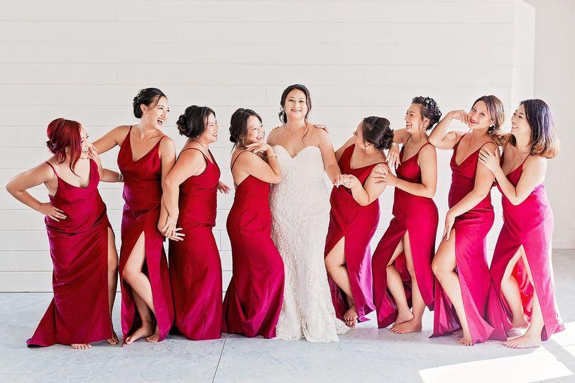 Bridal party   PANG KANG PHOTOGRAPHY