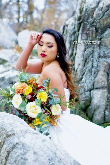 The lovely bride   PANG KANG PHOTOGRAPHY