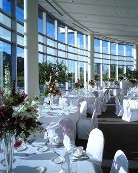 Interior view of Esplanade Lakes Ballroom.
