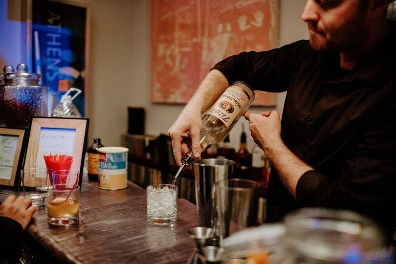Have bar, bring bartender!