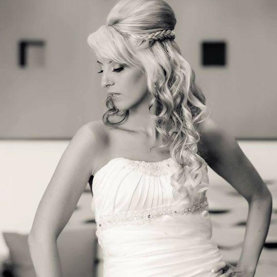 shear glamour bride