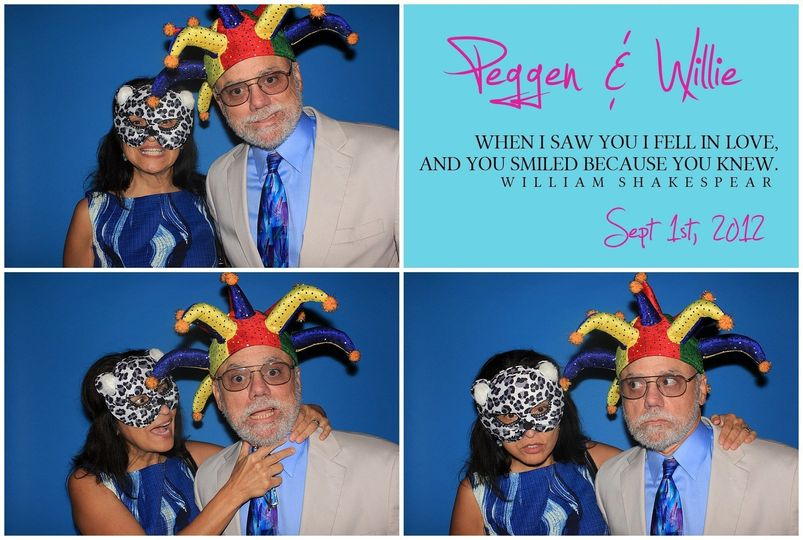 We offer photo booth backdrop color in blue, purple, red, black, grey, and many more!