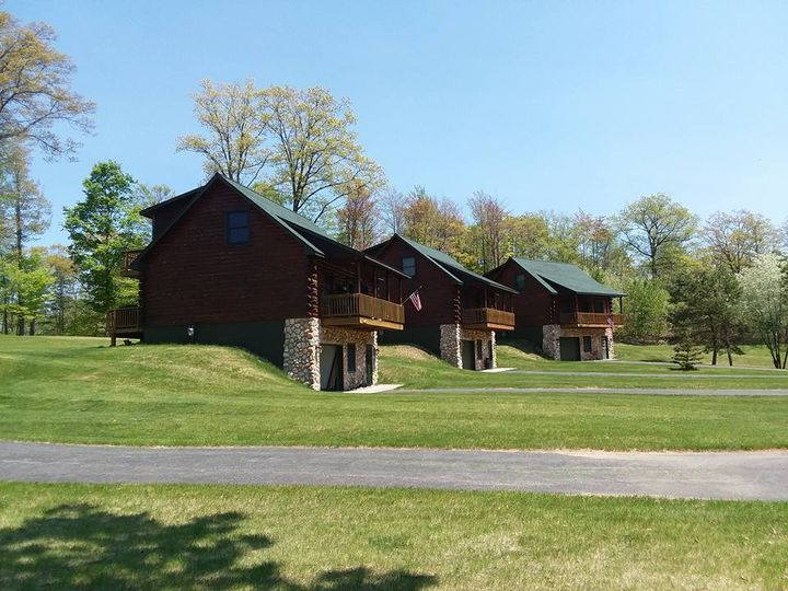 Cabins for the wedding party