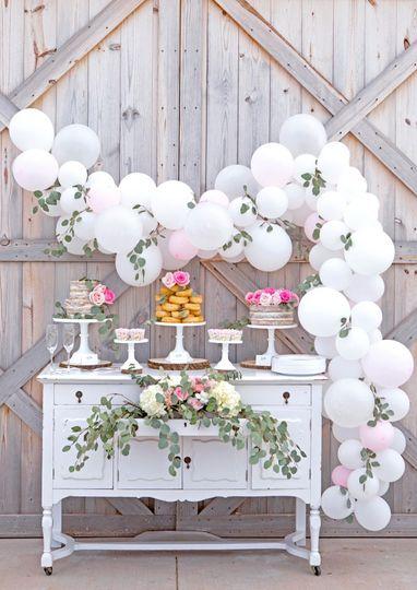 Barn Sweet Table