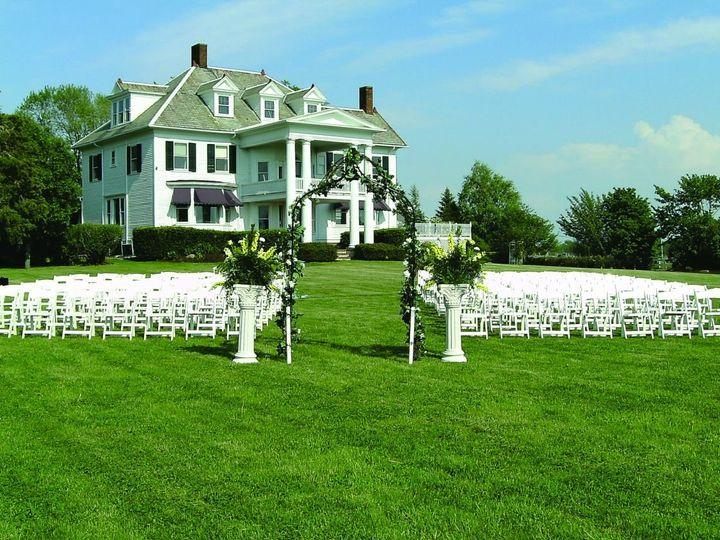 Tmx Frontyard Wedding Set Up Empty Seats 51 53563 Geneva, New York wedding venue