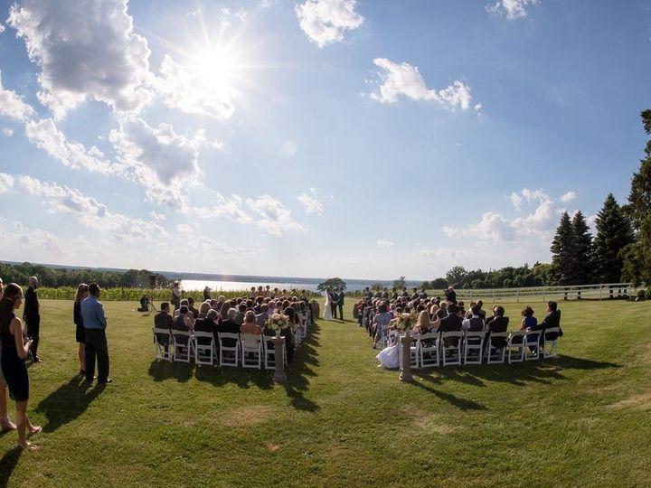 Tmx Frontyard Wedding Set Up Lake View During Wedding 51 53563 Geneva, New York wedding venue