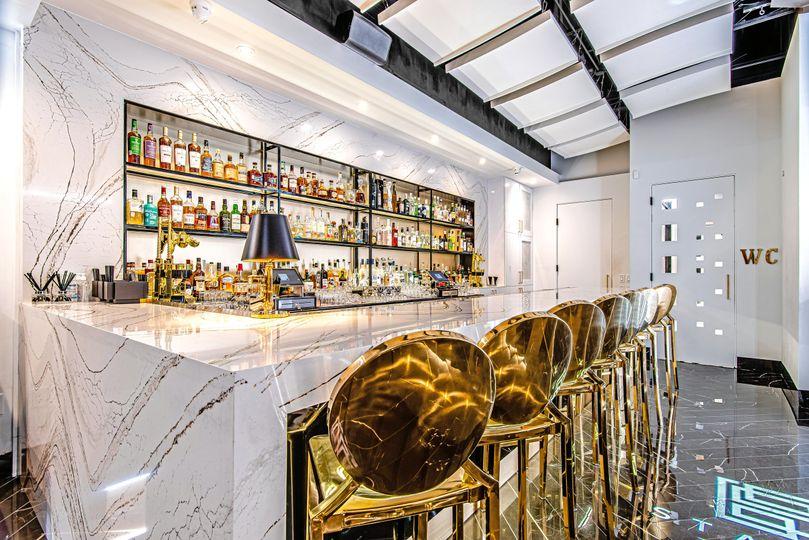 Corner bar view