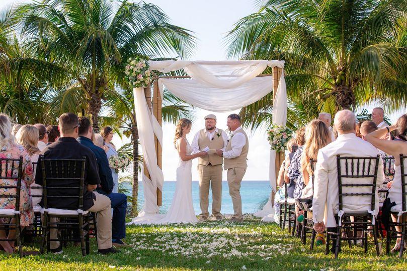 Wedding at Old Fort Bay