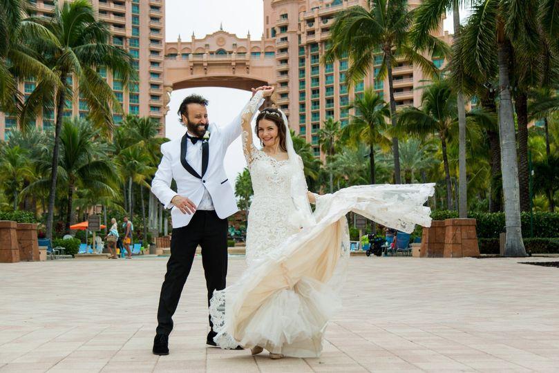 Wedding at Atlantis Resort