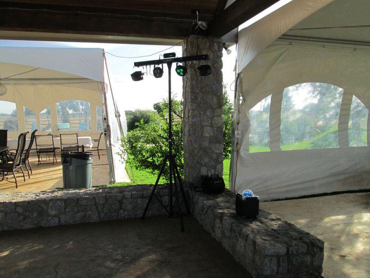 Tmx 1465534435504 Lighting Truss With Globe Frisco, Texas wedding dj