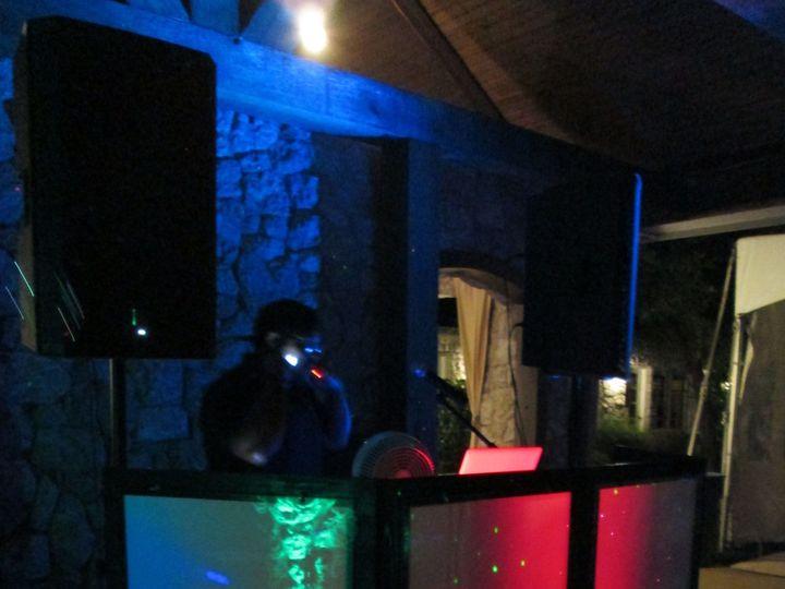 Tmx 1526530089 Aba6c0d51e469f03 1465534520606 Tr3 Dark Set Up With Lighting Frisco, Texas wedding dj