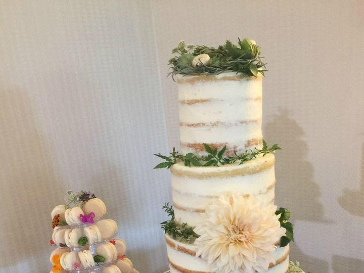 Tmx 8 17 3tieredwhite Green Macaroons Jpg2 51 1015563 Doylestown, Pennsylvania wedding florist