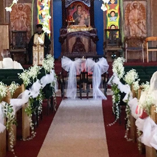 Ethiopian Orthodox Church wedding ceremony