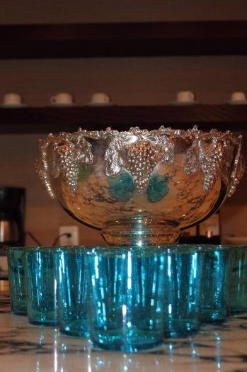 blueglassessilverpunchbowl