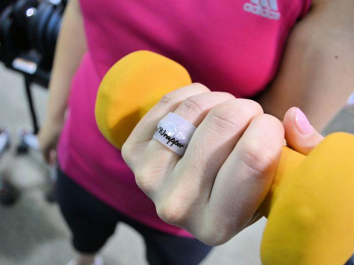 Tmx 1389991581071 Ringwrapper Inus Orem wedding favor