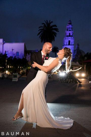 Adam and Meghans wedding day.
