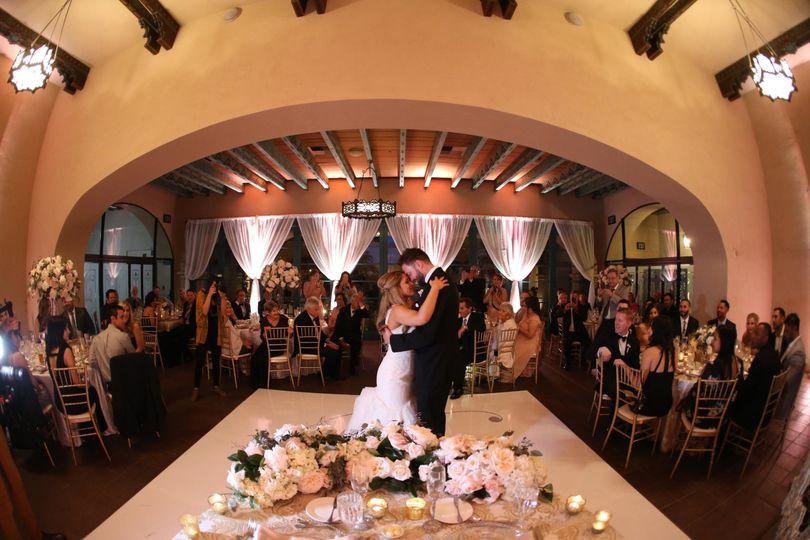 San Diego wedding DJ Jerry Beck Becks Entertainment. The Prado