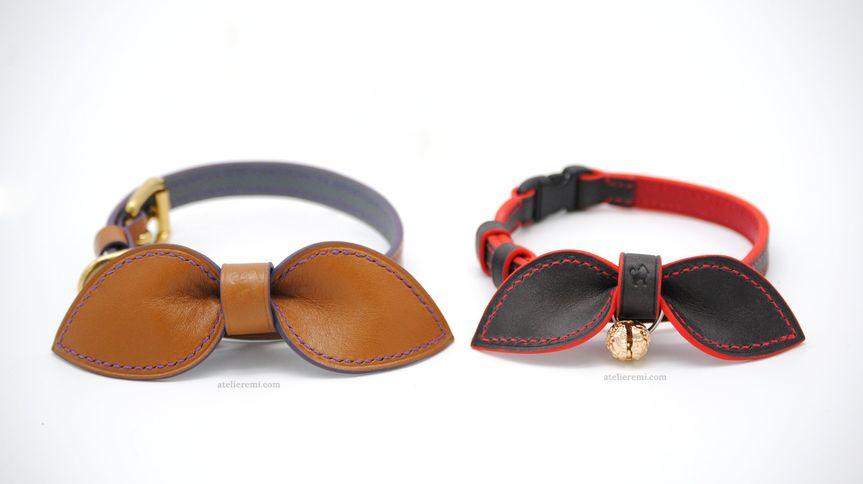 Custom, dapper pet collar
