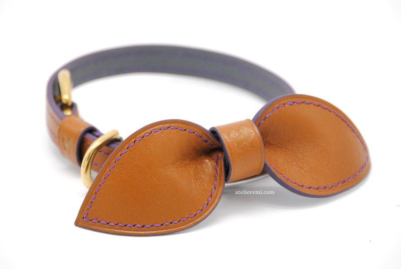Custom, dapper dog collar