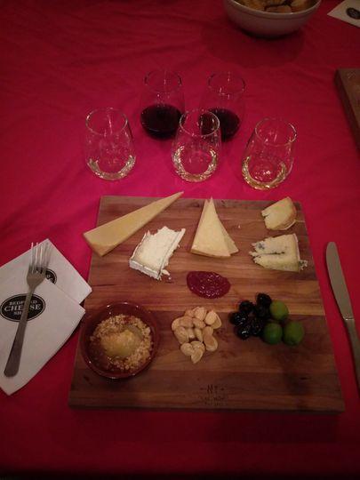 Wine & Cheese Tasting @Bedford