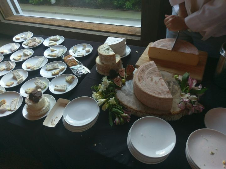 Breaking the cheeses down