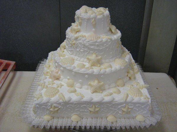 Tmx 1250859083437 Seashells Philadelphia wedding cake
