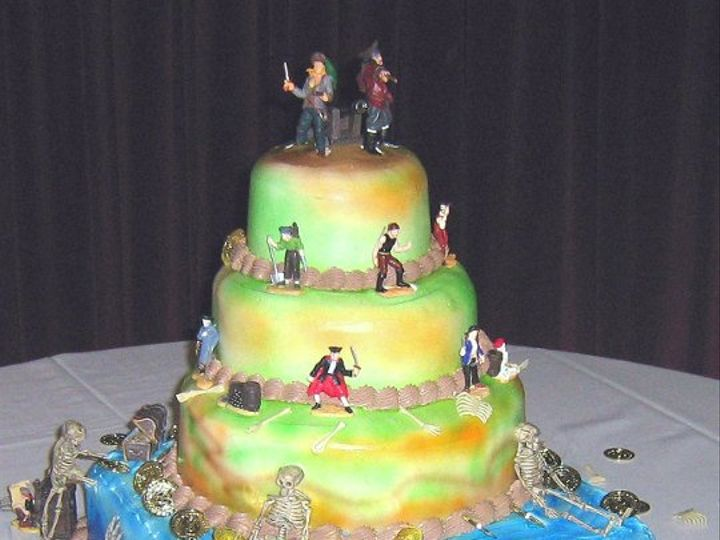 Tmx 1301924761873 PIRATES Philadelphia wedding cake