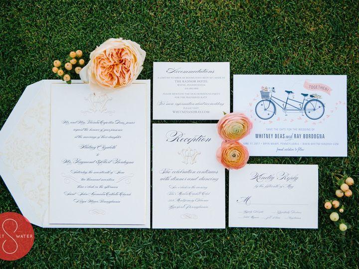 Tmx 1508780132808 Bordogna537 Philadelphia, Pennsylvania wedding invitation