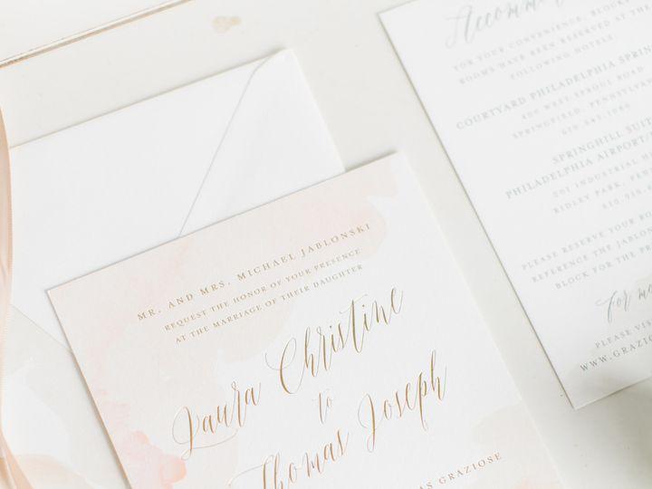 Tmx 1508780828130 Graziosevmp093 Philadelphia, Pennsylvania wedding invitation