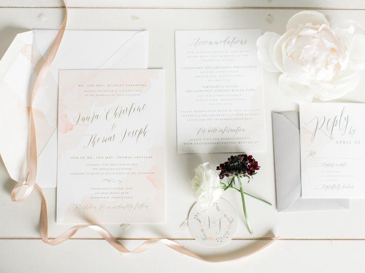 Tmx 1508780839689 Graziosevmp092 Philadelphia, Pennsylvania wedding invitation