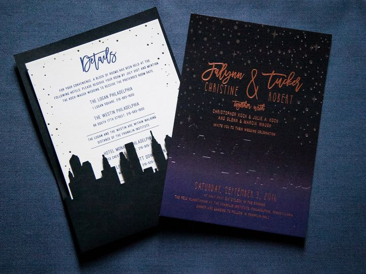 Tmx 1508781177353 Cryan Chickfall2016 130 Philadelphia, Pennsylvania wedding invitation