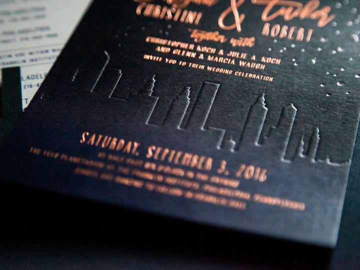 Tmx 1508781201606 Cryan Chickfall2016 133 Philadelphia, Pennsylvania wedding invitation