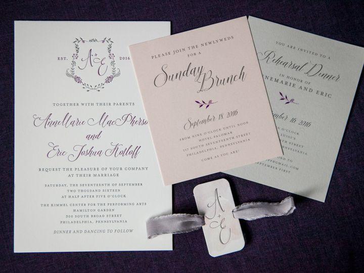 Tmx 1508781462267 Cryanchickfall2016 065 Philadelphia, Pennsylvania wedding invitation