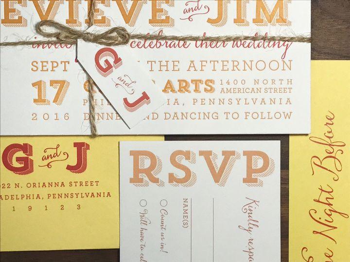Tmx 1508781757562 Img4627 Philadelphia, Pennsylvania wedding invitation